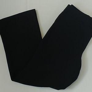 Ann Taylor Petite Signature Black Dress Pant 14P